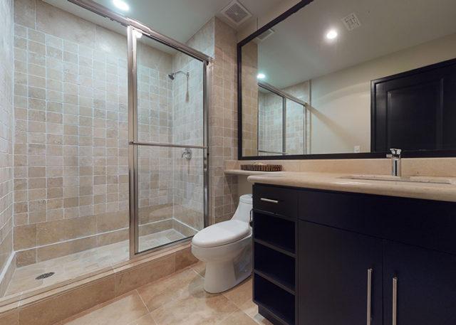 Unit 103 2 Bedroom - Guest Bathroom