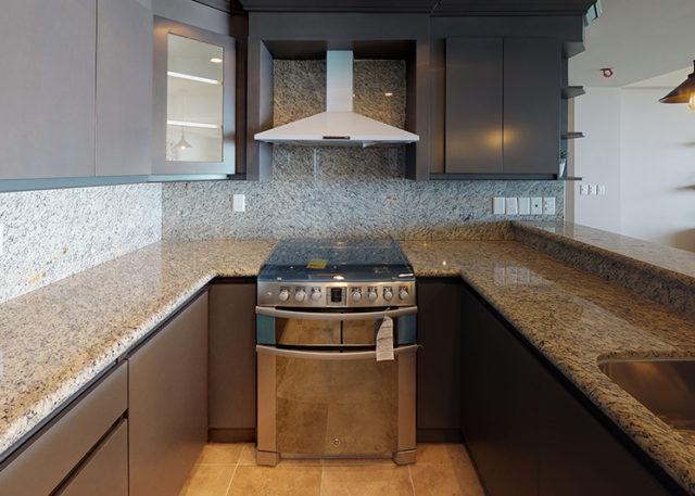 Unit 103 2 Bedroom - Kitchen